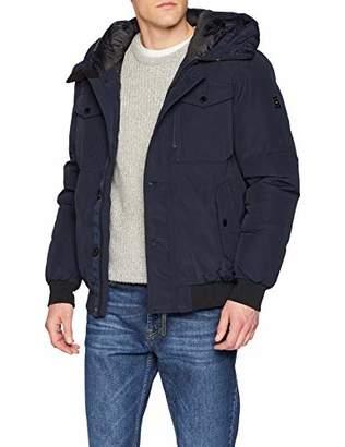 Tom Tailor Men's Blouson Jacke, Outdoorjacke Mit Hohem Stehkragen Jacket,X-Large