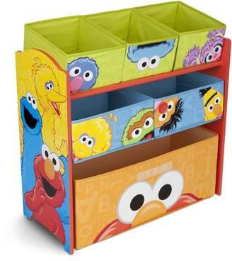 Sesame Street Delta Children Multi-Bin Toy Organizer,
