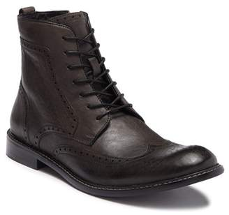 John Varvatos Star S Leather Wingtip Lace-Up Boot