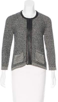 Rag & Bone Wool & Leather-Trimmed Jacket