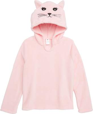 Tucker + Tate Animal Plush Fleece Pajama Hoodie