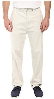 Nautica Men's Classic Fit Flat Front Twill Deck Pant