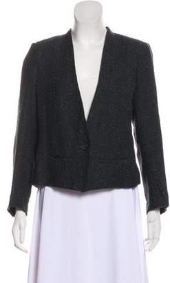 Etoile Isabel Marant Collarless Tweed Jacket
