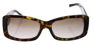 3740858da64 Pre-Owned at TheRealReal · Versace Tortoiseshell Gradient Sunglasses