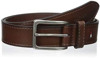 Tommy Hilfiger Men's 1 3/8 in. Vegatable Leather Belt