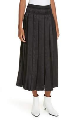 3.1 Phillip Lim Pleated Poplin Skirt