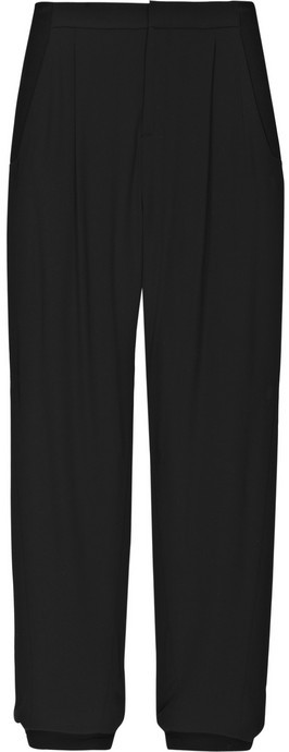 Helmut Lang Tapered stretch-twill pants