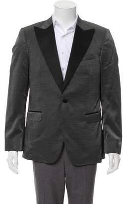 Halston Metallic Tuxedo Jacket w/ Tags