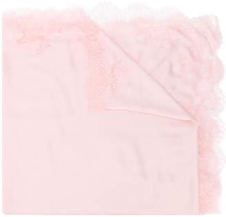 Valentino Lace Shawl scarf