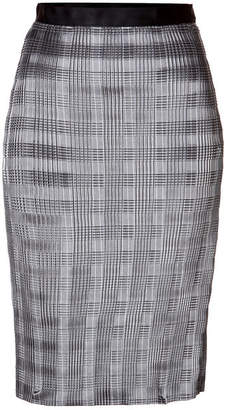 Alexander Wang Pleated Skirt with Raw Edge