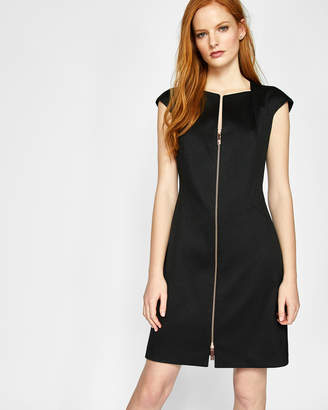 Ted Baker MIRAADD Zip front A-line dress