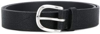 Orciani slim leather belt