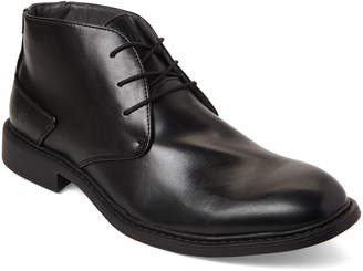 Andrew Marc Black Russell Chukka Boots
