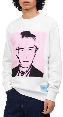 Calvin Klein Jeans Warhol Portrait Crewneck Sweatshirt