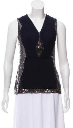 3.1 Phillip Lim Sequin Sleeveless Top