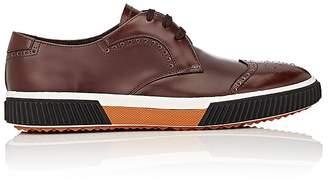Prada Men's Wingtip Blucher Sneakers