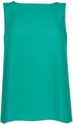 9925eca1270 Dorothy Perkins Womens Green Cross Back Top