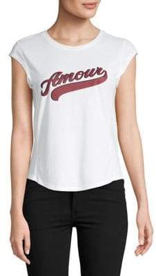 Joie Karashi Graphic Cotton Tee