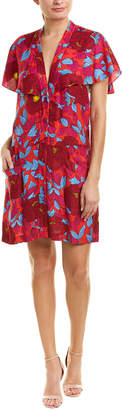 Diane von Furstenberg Open-Back A-Line Dress