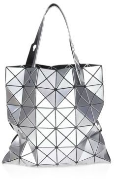 Bao Bao Issey Miyake Lucent Basic Tote $425 thestylecure.com