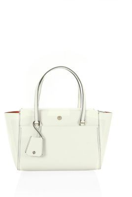 Tory Burch Parker Small Leather Tote $265 thestylecure.com