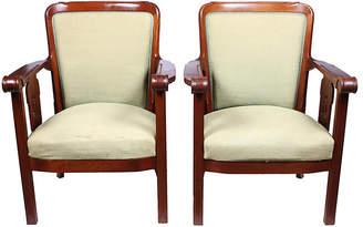 One Kings Lane Vintage 1920s Jugendstil Armchairs - Set of 2