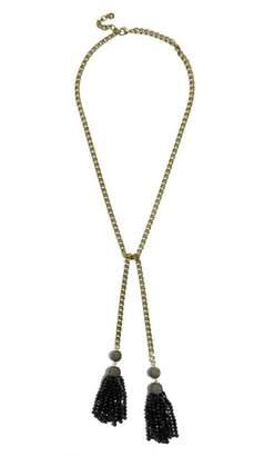 BaubleBar Tinsley Lariat Tassel Necklace