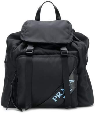Prada classic backpack