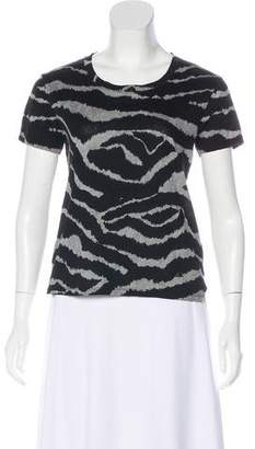 Burberry Printed Short Sleeve T-Shirt