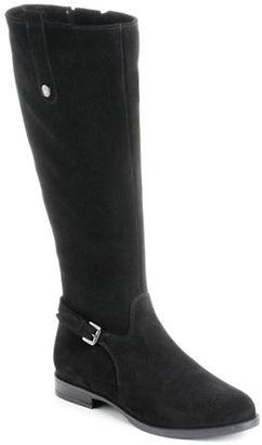 La Canadienne Lori Waterproof Suede Boots $300 thestylecure.com