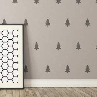Spin Collective Contemporary Mini Tree Wall Stickers