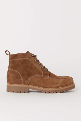 H&M Suede Boots - Beige