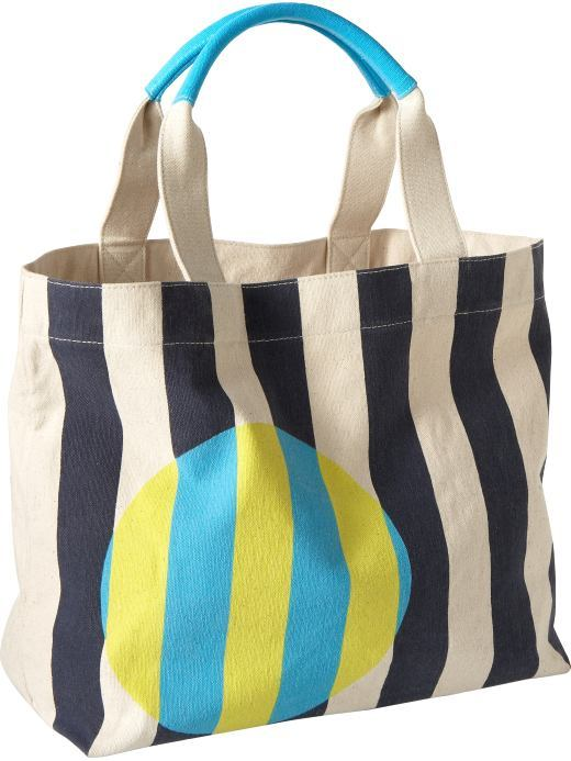 Women's Printed Canvas Totes