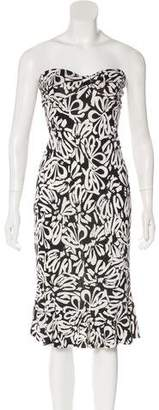 Diane von Furstenberg Silk Baby Jane Floral Dress