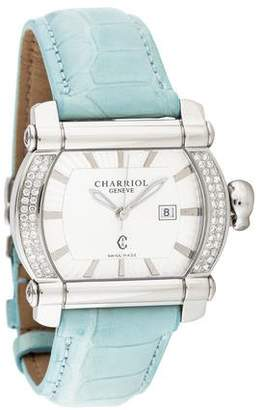 Charriol Actor Tonneau Watch