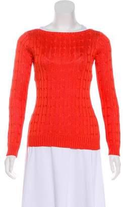 Ralph Lauren Black Label Knit Silk Sweaters