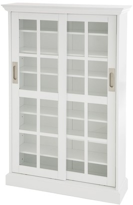 Southern Enterprises Windowpane Media Cabinet