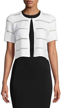 Calvin Klein Shadow Stripe Shrug