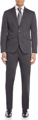 Kenneth Cole Reaction Two-Piece Charcoal Ready Flex Suit