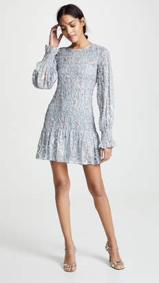 LoveShackFancy Scarlett Mini Dress