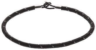 Miansai Silver Nexus Rope Bracelet
