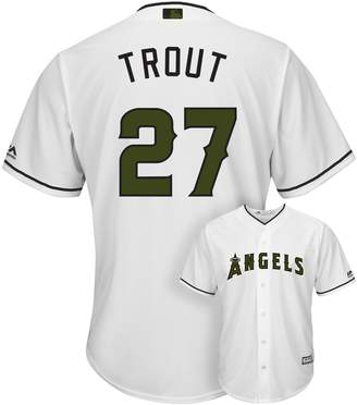 Majestic Men's Los Angeles Angels of Anaheim Mike Trout Cool Base Replica MLB Jersey