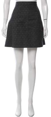 Brunello Cucinelli Wool Mini Skirt