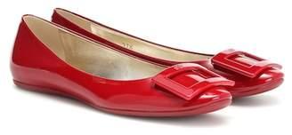 Roger Vivier Gommette patent leather ballerinas