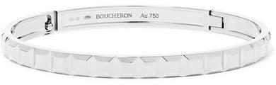Boucheron Quatre Clou De Paris 18-karat White Gold Bracelet - L