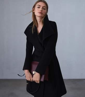 Reiss Luna Wool Self Tie Coat