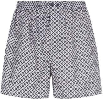 Zimmerli Diamond Print Boxer Shorts