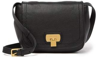 Cole Haan Hinge Lock Leather Crossbody Bag