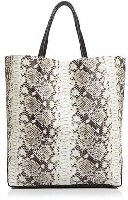Alice.D Large Python-Print Tote - 100% Exclusive