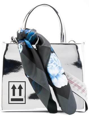 Off-White Mirror Box bag